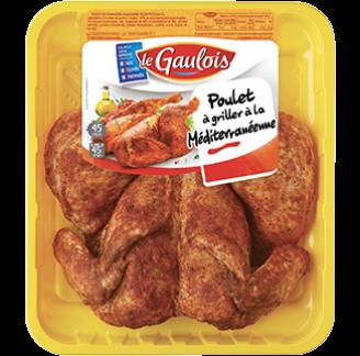 Le Gaulois - Poulet à la Méditérranéenne Le Gaulois