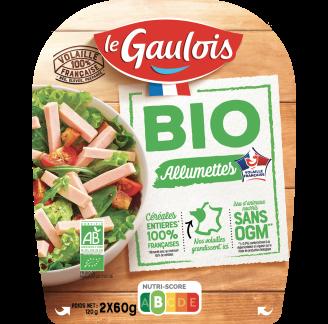 Le Gaulois - Allumettes de volaille BIO