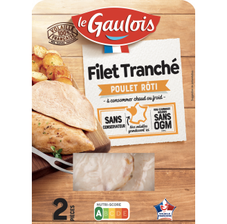 Le Gaulois - Filet tranché de poulet rôti
