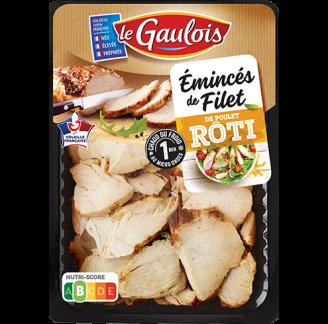 Le Gaulois - Émincés de filet de poulet rôti