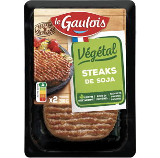 Le Gaulois - Steaks de Soja