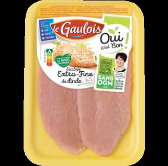 Le Gaulois - Escalopes extra-fine de dinde