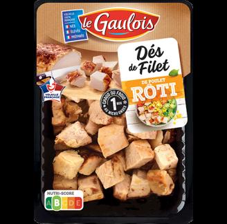 Le Gaulois - Dés de filet de poulet rôtis
