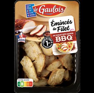 Le Gaulois - Emincés de filet de poulet rôti au BBQ
