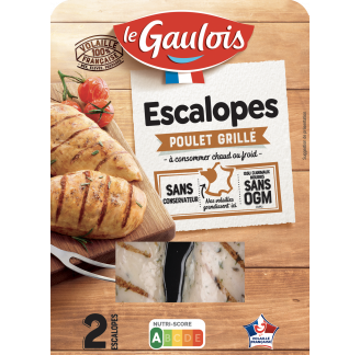 Le Gaulois - Escalopes de poulet grillé