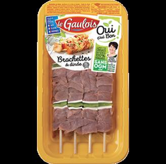Le Gaulois - Brochettes de dinde Le Gaulois OUI C'EST BON