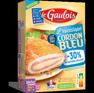 Le Gaulois - Escalope Cordon Bleu -30% matières grasses