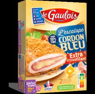 Le Gaulois - Escalope Cordon Bleu Extra Croustillant