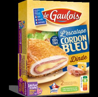 Le Gaulois - Escalope Cordon Bleu de dinde Le Gaulois
