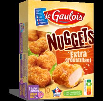 Le Gaulois - Nuggets Extra Croustillants Le Gaulois
