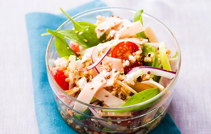 Salade vitaminée de Filet de Poulet tranché - Le Gaulois