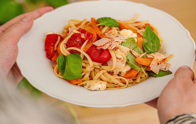 One pot pasta charcuterie - Le Gaulois